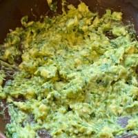 Simple Homemade Guacamole