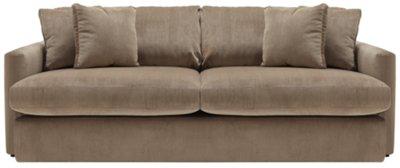 Tara2 Dk Taupe Micro Sofa