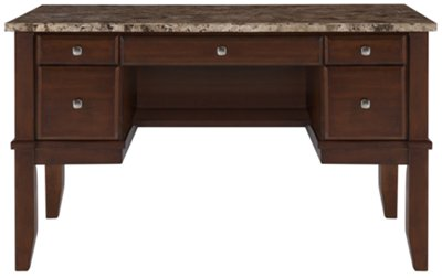 City Furniture City Lights Marble Writing Desk
