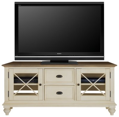 City Furniture Coventry Two Tone TV Stand