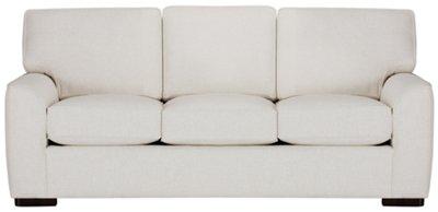 City Furniture Austin White Fabric Sofa