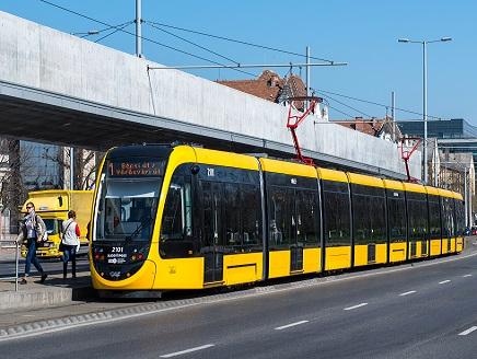 Pótlóbusz jár az 1-es villamos helyett a Puskás Ferenc Stadion és a Népliget között 2019. június 29-től július 7-ig