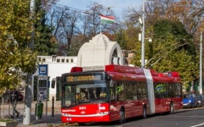 Hétvégenként újra átszállásmentes trolikapcsolat Zugló vasútállomás és az Orczy tér között