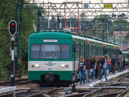 Pótlóbusz jár a H8-as HÉV helyett Kerepes és Gödöllő között az október 5-6-i hétvégén