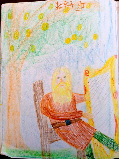 Bragi, God of the Bards