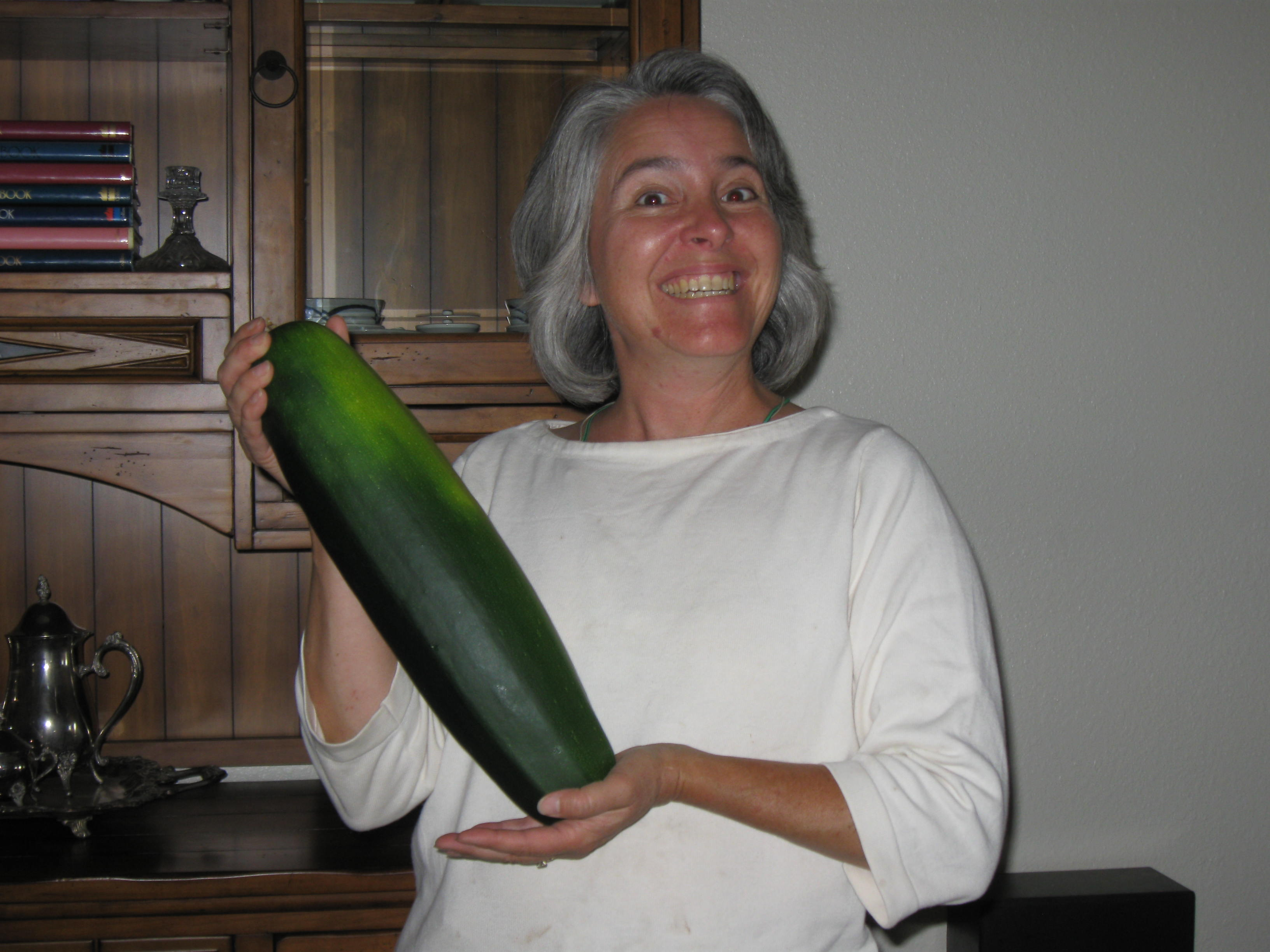 """One of my """"stealth zucchinis"""""""