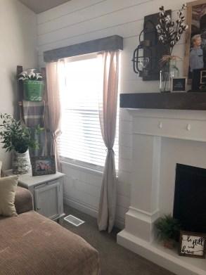 One Room Challenge Living Room Blinds