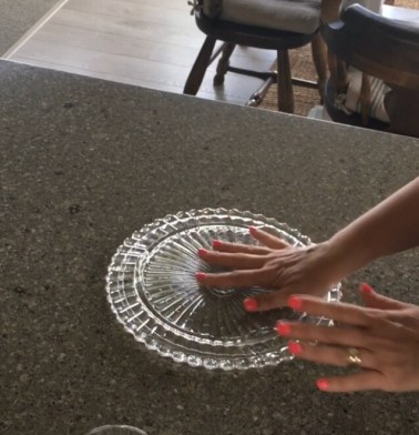 DIY Cake Plate Tutorial
