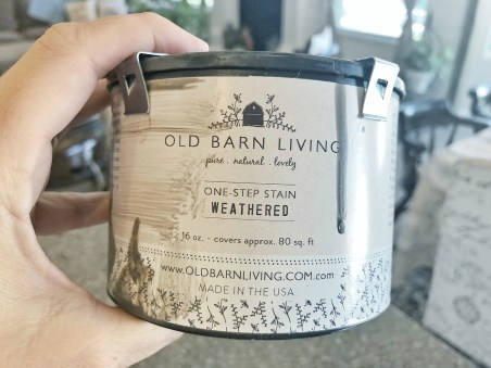 Old Barn Living Weathered Stain