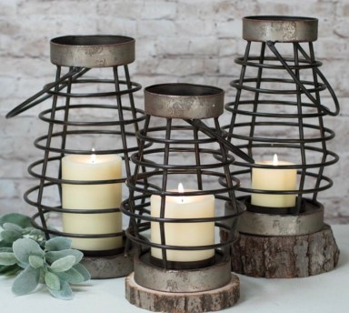Farmhouse Lanterns under $50