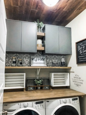 Laundry Room Renovation Farmhouse Style