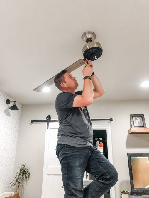 How to install a Hunter Ceiling Fan