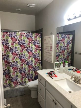 Girls Bathroom Renovation