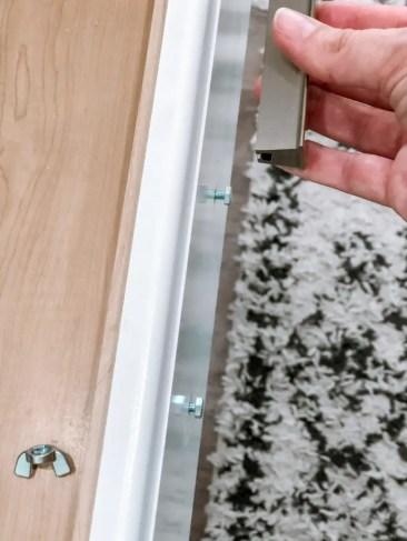 Installing Kitchen Pulls