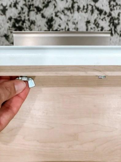 Changing Kitchen Hardware