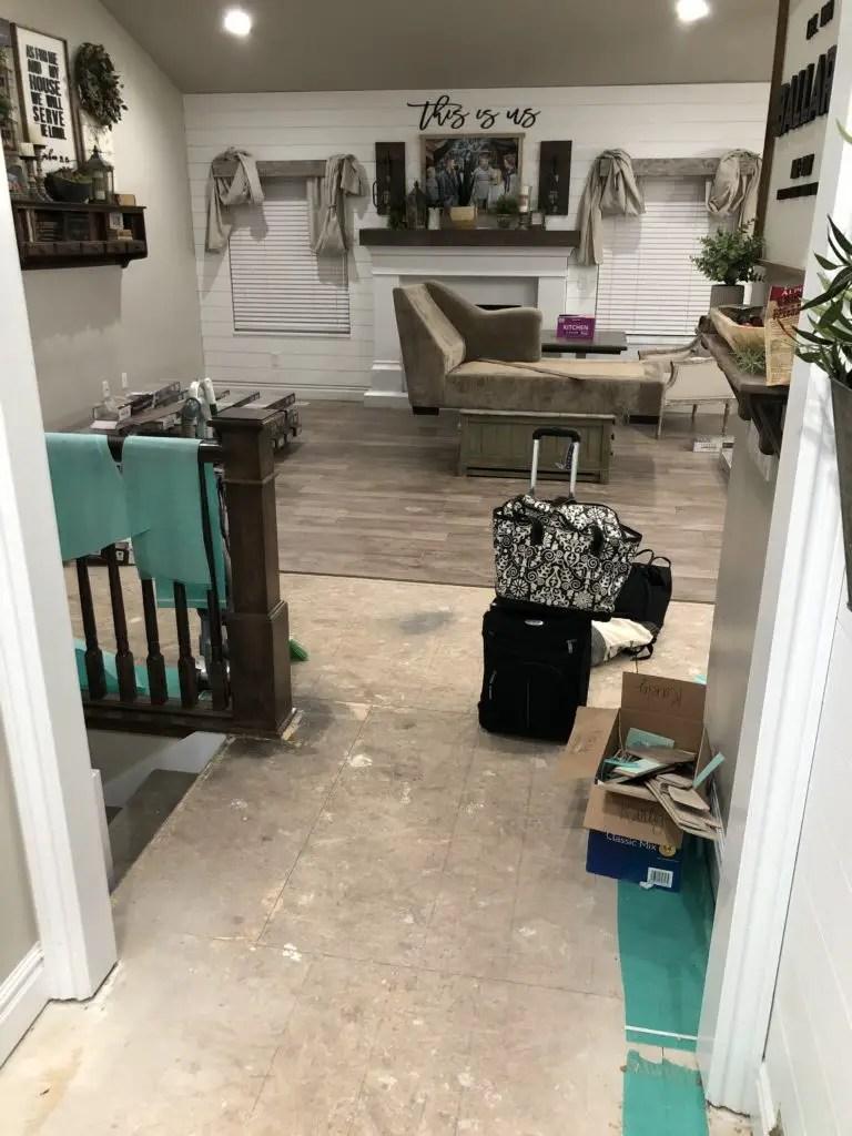 Replacing Flooring