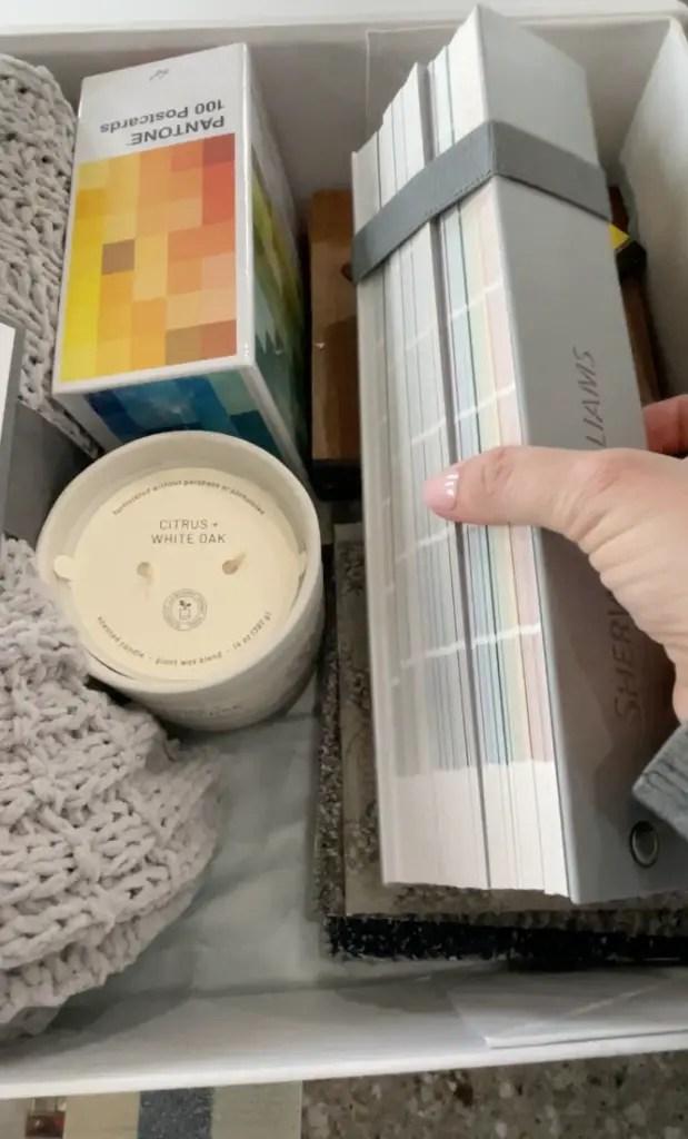 Carpet One Mood Board Design Box