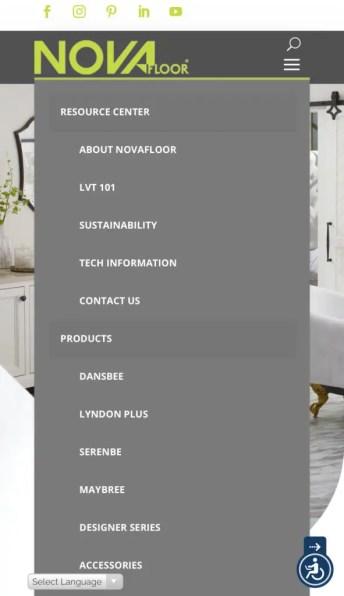 Nova Floor Website