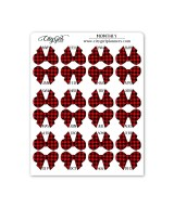 Buffalo Plaid Bows Monthly