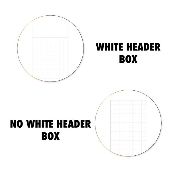 Header Box Information Disc Wo2P grid