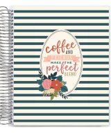 Coffee and Friends spiral coil planner