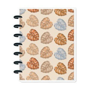 Golden Monstera Metro Planner