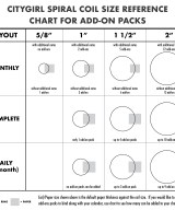 Coil to Paper Reference Chart