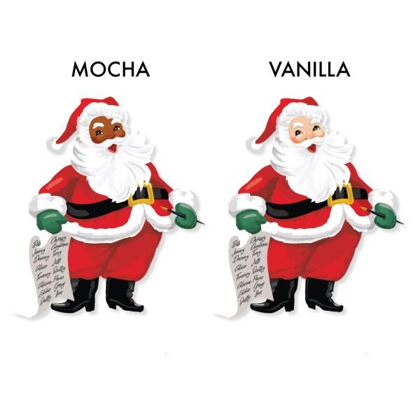 Mocha & Vanilla Santa