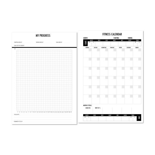 Exercise goals tracking
