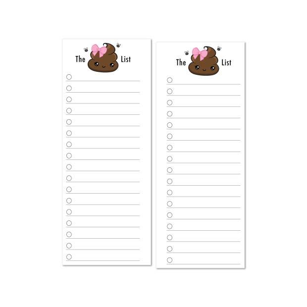 Shit List poop emoji