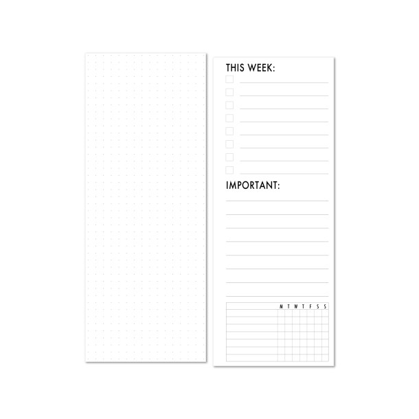 this week information planning