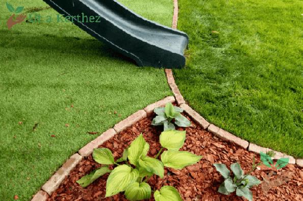 kerti szegély