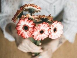 Névnapi virágcsokor
