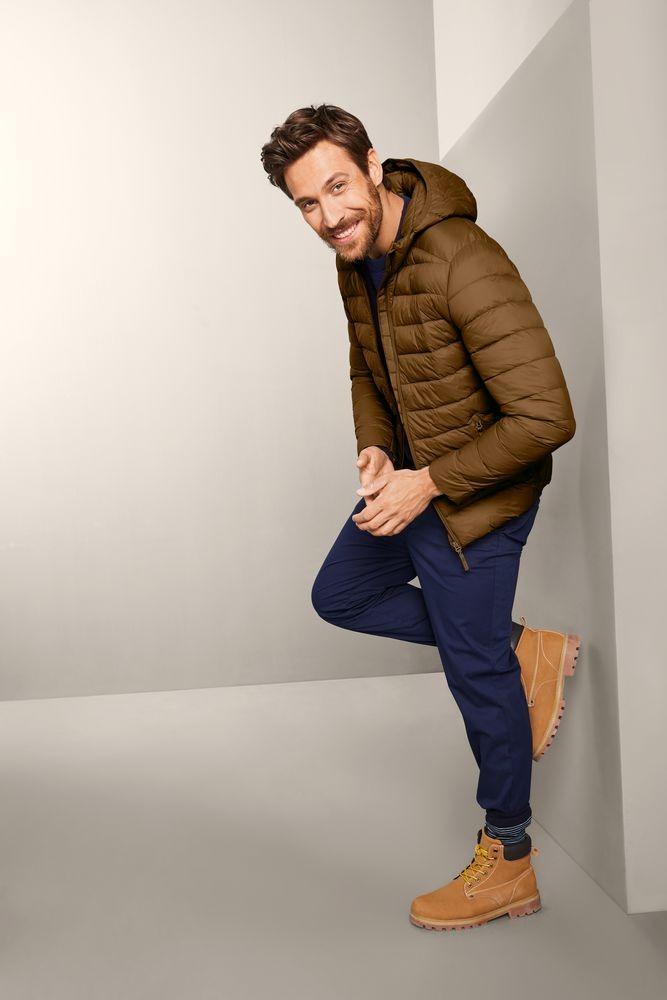 férfi steppelt dzseki
