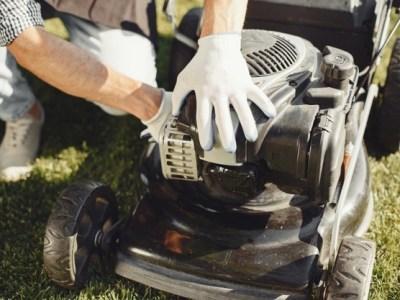 kerti gépek karbantartása