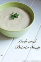 Leek and potato soup- eat local challenge || cityhippyfarmgirl