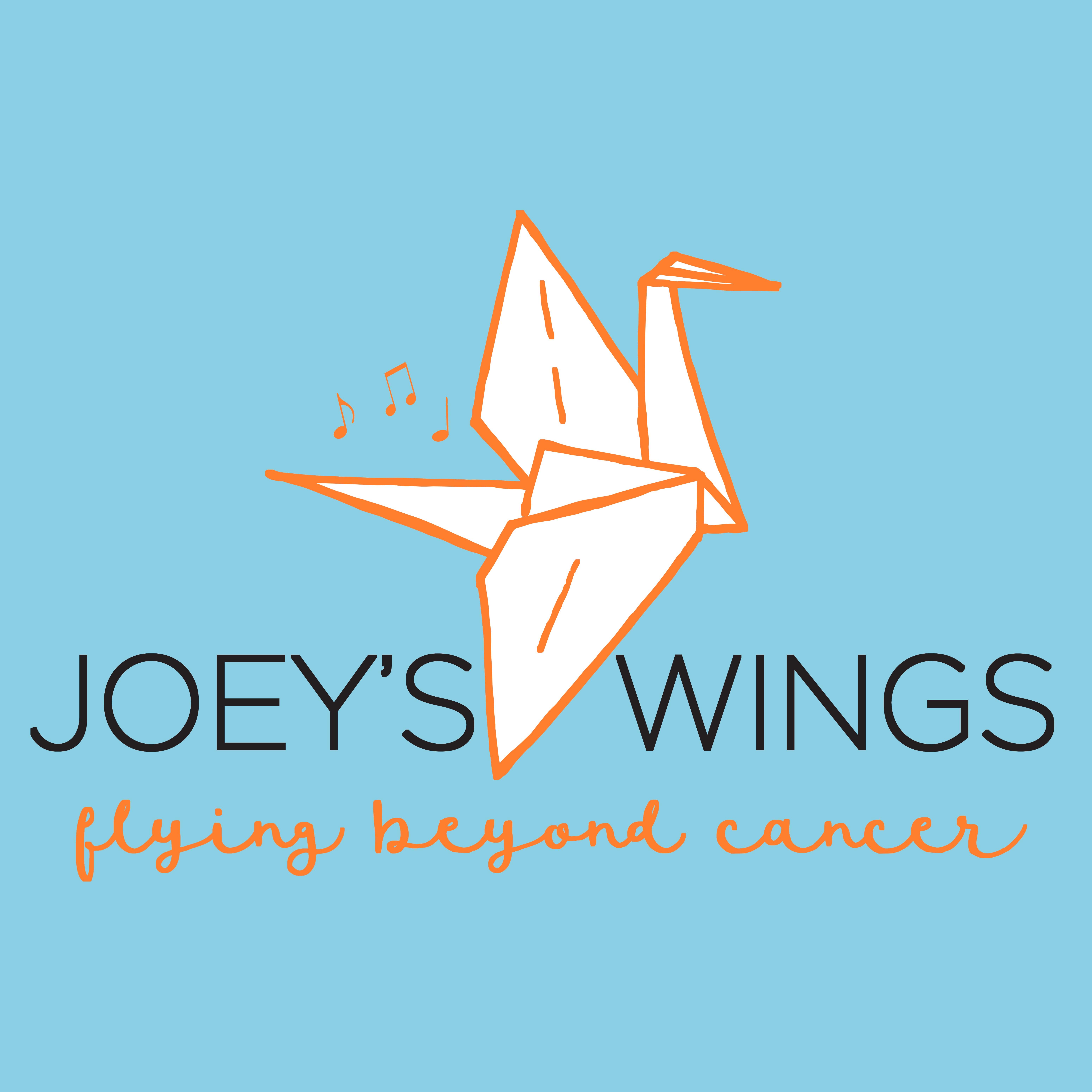 Joeys Wings Blue Logo