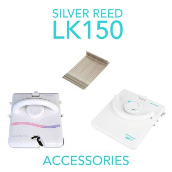 Silver Reed LK150 accessories for knitting machine