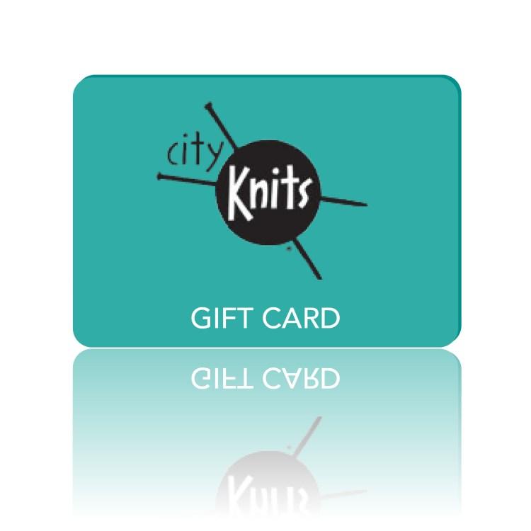 CityKnits gift card