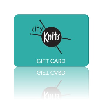 CityKnits gift card