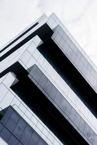 Glazed building