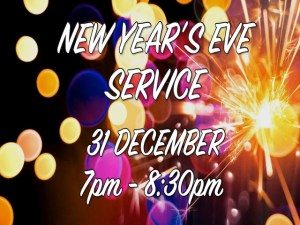 New Year Eve's Service 2018