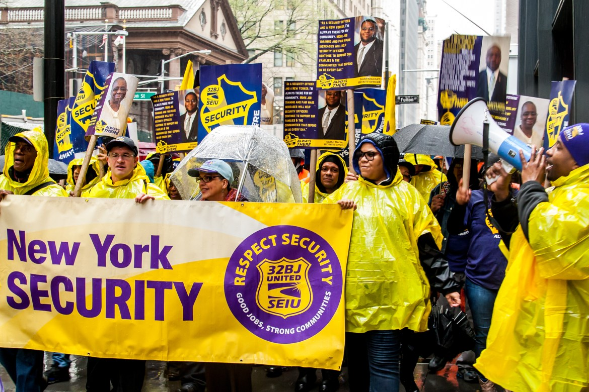 Security Contract Talks Could Give Union A Foothold In Industry