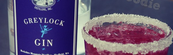 Lavender Pomegranate Cocktail with Greylock Gin