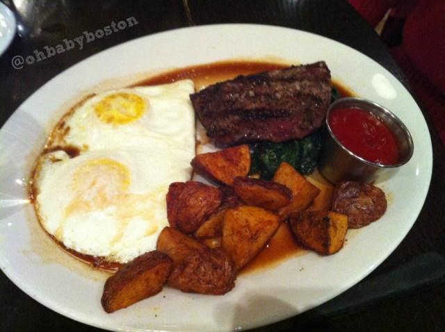 steak and eggs tm