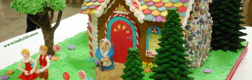 Over the Gelatin River & Through the Chocolate Woods: Gingerbread Houses