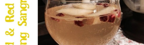 New England Sangria: Gold and Red Sparkling Sangria (Recipe)