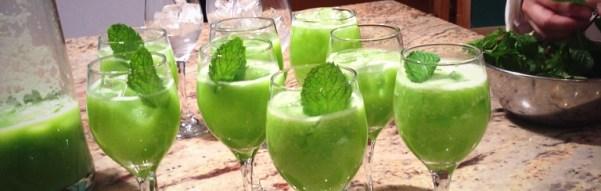 Chef Jeremy Sewall's Cucumber Lime Mint Mocktail (Recipe)