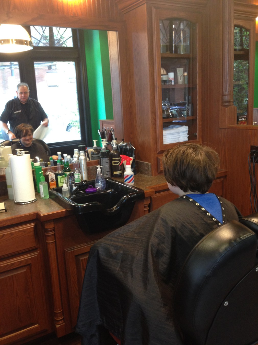 The Back to School haircut at Roosters