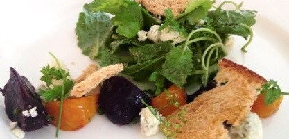 The Sacred Cod's Roasted Beet and Baby Kale Salad (Recipe)